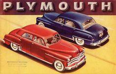 1950 Plymouth Special De Luxe Four Door Sedan