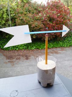 Learn how to make a weathervane with this fun and simple meteorology project for fourth graders.