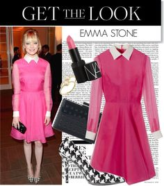 """""""Get the Look: Emma Stone"""" by polyvore-editorial ❤ liked on Polyvore"""