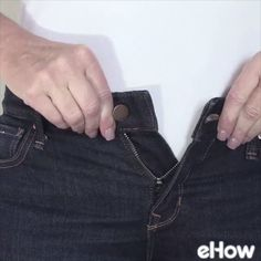 Favorite jeans a little tight? You can save them, even if you're not a whiz at sewing.