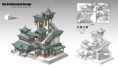 ArtStation - Architectural design, XIWEN CHAN