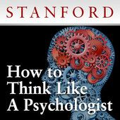 How to Think Like a Psychologist  (look for lectures on procrastination form the same professor in January 2013)