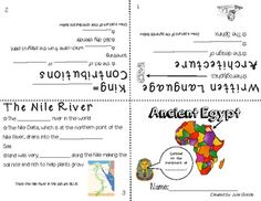 Adorable Ancient Egypt and China Booklets: supports 2nd grade VA SOL