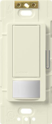 Lutron Maestro Sensor switch, 2A, No Neutral Required, Si...