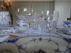 Easter Breakfast Table Setting with Royal Copenhagen, Musselmalet