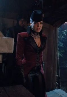 regina once upon a time leather - Google Search