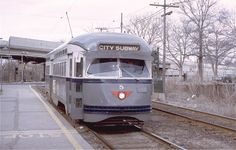 (223k, 1024x652)<br><b>Country:</b> United States<br><b>City:</b> Newark, NJ<br><b>System:</b> Newark City Subway<br><b>Location:</b> Orange Street <br><b>Route:</b> 7-City Subway<br><b>Car:</b> NJTransit/PSCT PCC (Ex-Twin City) (St. Louis Car Co., 1946-1947) 5 <br><b>Photo by:</b> Willie Rosenberg<br><b>Collection of:</b> Joe Testagrose<br><b>Date:</b> 4/1975<br><b>Viewed (this week/total):</b> 0 / 823 Newark City, Commuter Train, Railroad Pictures, Railroad Photography, Ca Usa, Train Art, Light Rail, Public Service, Public Transport