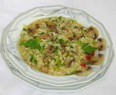 Rezept Pilz-Risotto mit Thymian von Papa-Joe - Rezept der Kategorie Hauptgerichte mit Gemüse