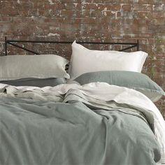 Biella Jade & Celadon Bed Linen