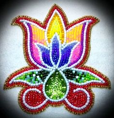 Beading - unknown artist