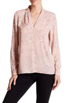 Ariana Floral Blouse by T Tahari on @nordstrom_rack