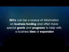 Economic Development Commissions -- Business Funding Tip