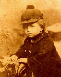 Edwin Lemp as a child
