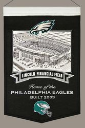 Philadelphia Eagles Wool Stadium Banner - Lincoln Financial Field