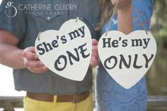 Engagement Session Ideas, Engagement session signs, Engagament Props
