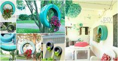 DIY Tire Garden Tutorial | DIY Tag