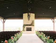 Wedding ceremony. Floral adorned mantle and fireplace. Bright Floral and lush greenery. Flourish Floral Design. Ben Q Photography