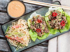 Healthy Lettuce Wrap Meal Prep