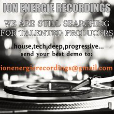 ...we are looking for producers...
