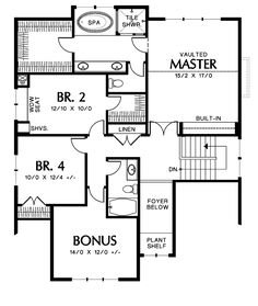 Plan Columbia House Plan - 4064 - The House Designers, LLC