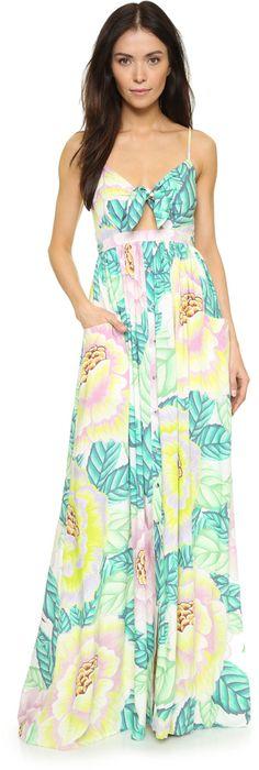 Mara Hoffman Flora Stone Maxi Dress