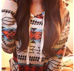 Tribal sweater!!!! i love that AMAZING HOODIE!!!!
