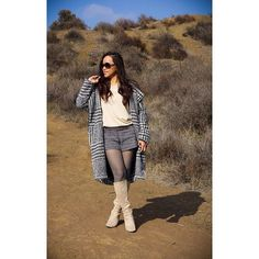 """Lily // Fashion Blogger on Instagram @pslilyboutique """"I like big coats and I can not lie... You other girls can't deny.  1.25.16 Photo by @ibakefilm #tb #losangeles #LA #fashion #fashionblog #fashionblogger #blog #blogger #winterfashion #style #styleblog #styleblogger #streetstyle #fashionista #fashiondiaries #fashionstudy #aboutalook #lookbook #lookbooknu #lookoftheday #dailylook #nowistyle #coat #romper #boots #isaacmizrahi #ontheblog #instafashion #igstyle #mystyle"""""""