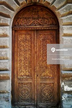 Old door in streets of #Yerevan, #Armenia. #StreetPhotography