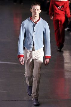 Alexander McQueen | Fall 2005 Mens Ready-to-Wear Collection | Style.com