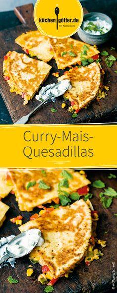Die mexikanische Spezialität ist ein super Gericht für die ganze Familie! Gefüllt mit Mais und  gewürzt mit leckerem Curry ist sie ganz schnell zubereitet und einfach köstlich!