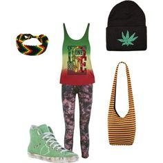 """Ultimate stoner outfit."" by natashahadieneideckerr on Polyvore"