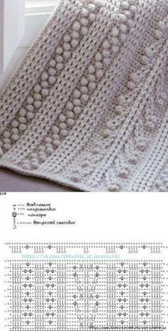 New crochet mantas patrones ganchillo Ideas Crochet Motifs, Crochet Diagram, Crochet Stitches Patterns, Crochet Chart, Crochet Doilies, Knitting Patterns, Crochet Lace Scarf, Knit Crochet, Free Crochet