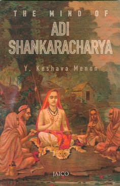 Adi Shankaracharya - Hindu Philosopher and Saint from Kerala in Medieval India. He is credited with the establishment of the Advaita school of thought in Hindu philosophy