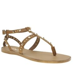 Schuh Tan Prize Womens Sandals If there was a Prize for best summer style, youd be shoo-in to win it with these schuh gladiator sandals on your tootsies. The tan leather upper forms a T-bar silhouette, adorned in pyramid and circul http://www.MightGet.com/january-2017-13/schuh-tan-prize-womens-sandals.asp