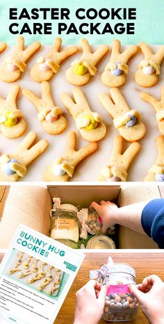 To really feel connected with family from afar, we put together a simple DIY box. Easter Recipes, Holiday Recipes, Easter Ideas, Spaghetti Sauce Easy, Gingerbread Man Cookie Cutter, Cookie Recipes, Dessert Recipes, Kid Desserts, Easter Cookies