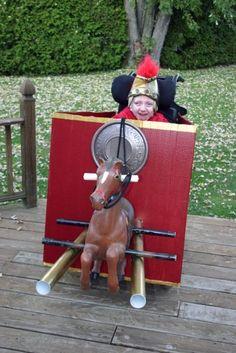 Roman Chariot Wheelchair Halloween Costume