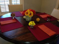 Mums, Gerber daisies, gourds, in jewel colors. Birch vase. Autumn 2013-Elizabeth South