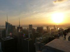 Sunset Rockefeller Center