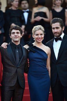 Xavier Dolan, Jake Gyllenhaal and Sienna Miller