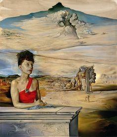 Salvador Dalí - Portrait of Mrs.Jack Warner, 1944