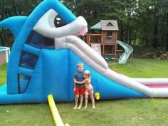 Bounce House Review: Water Slide