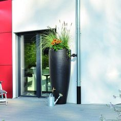 Check out these 10 outdoor living trends you'll want for your yard or patio, including a rain barrel garden that captures water from a downspout. Read about the latest trends at The Home Depot's Garden Club.