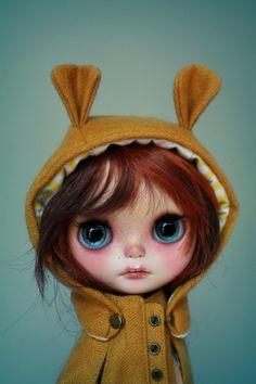 OOAK Custom Blythe Doll by G.Baby - Winnie