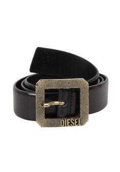 02a0784c126 DIESEL - Womens Bakir Belt black  planetsports  diesel  belt  black Schwarz