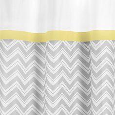 Sweet Jojo Designs Zig Zag Cotton Shower Curtain