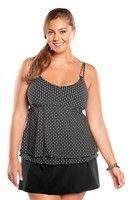 Christina Sand Seduction Underwire Plus Size Tankini Top