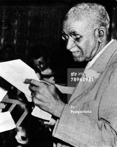 A picture of George Washington Carver , the US botanist, Agricultural...
