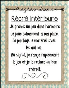 La classe de Karine Classroom Management Tips, Classroom Rules, Future Classroom, School Classroom, Diy Projects For School, French Resources, Future Jobs, Teaching French, Teaching Tools