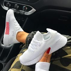 Latest sneakers from Nike and Adidas Zapatos nike Sneakers Mode, Latest Sneakers, Sneakers Fashion, Adidas Sneakers, Platform Tennis Shoes, White Tennis Shoes, Golf Shoes, Men's Shoes, Shoes Sneakers