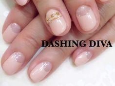 シンプル・オフィスネイル|ジェルネイルデザイン|ダッシングディバ DASHING DIVA